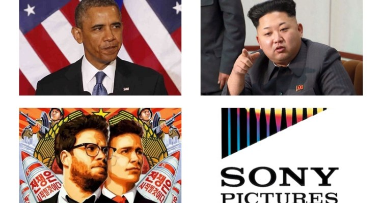 Obama / Kim Jong-Un / The Interview / Sony Pictures