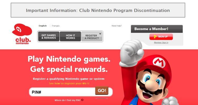 Club Nintendo: Program Discontinuation