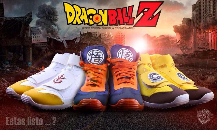 Heredia Clothing: Dragon Ball Z Sneakers - Goku, Vegeta, Trunks