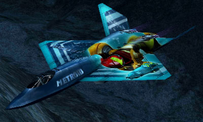 Ace Combat Assault Horizon Legacy+ / YF-23A Aircraft - Samus