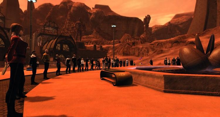 """Jugadores de """"Star Trek Online"""" presentan sus respetos a Leonard Nimoy, alias Spock"""