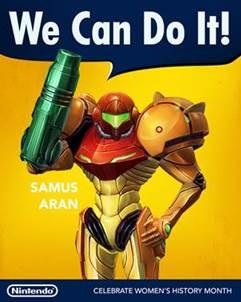 Nintendo / Samus Aran / Women's History Month