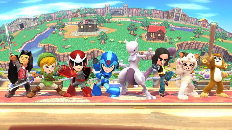 Super Smash Bros. for Wii U and Nintendo 3DS / MewTew and Mii Fighter Costumes