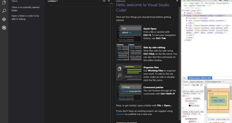 What Microsoft announced at the Build Developer Conference 2015 - Day 1 - Visual Studio Code