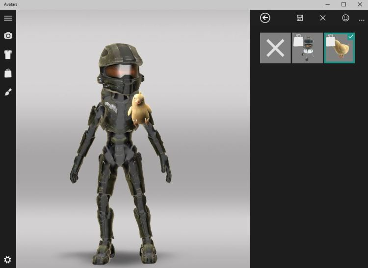 Xbox Avatars App now on Windows 10 Technical Preview