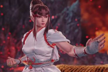 Kazumi, the newest character in Tekken 7