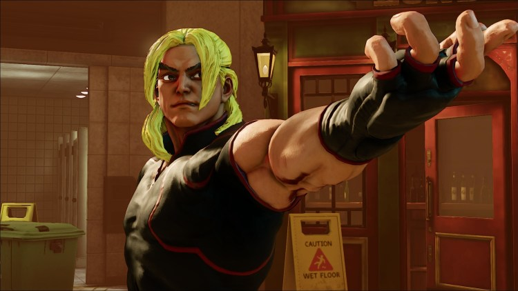 Ken is coming to Street Fighter V