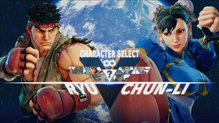 Street Fighter V: Chun-Li vs Ryu