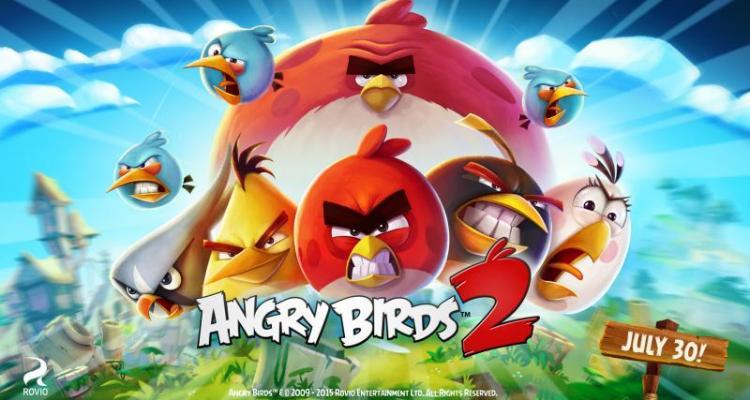 Llega Angry Birds 2 el 30 de julio
