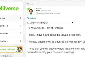 Nintendo anuncia el estreno del rediseño de Miiverse para el 29 de julio
