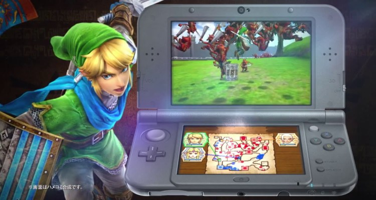 Hyrule Warriors Legends will feature stereoscopic 3D on New 3DS models only