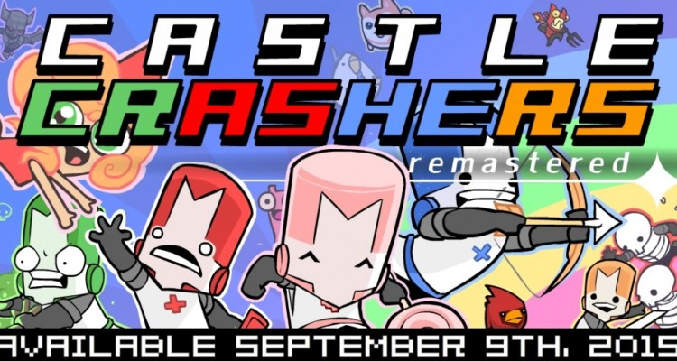 The Behemoth announces Castle Crashers Remastered for Xbox One on Sept. 9