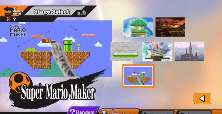 The Super Mario Maker Stage is coming to Super Smash Bros. for Wii U and 3DS