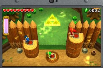 Online play will be region-locked on The Legend of Zelda: Tri Force Heroes