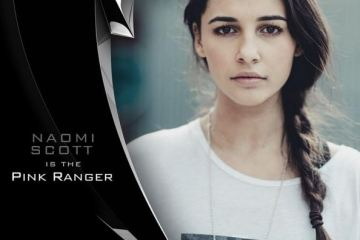 Naomi Scott will be the Pink Ranger in the Power Rangers reboot
