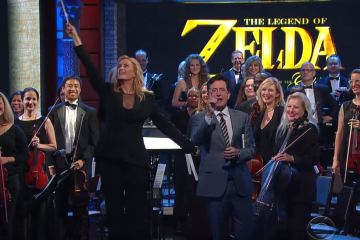 In case you missed it, watch The Legend of Zelda: Symphony of the Goddesses on Colbert