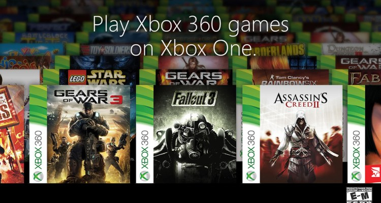 The first 104 Xbox 360 games you'll play on Xbox One