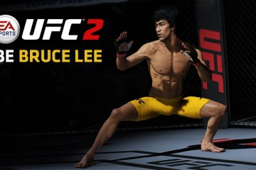Bruce Lee returns to the Octagon in EA Sports UFC 2
