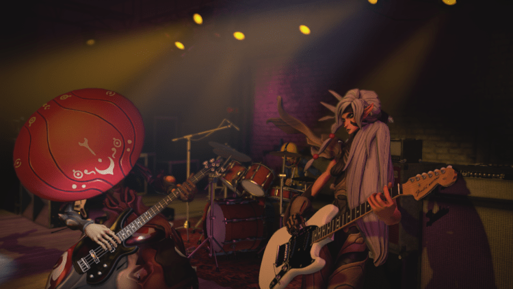 Llega Battleborn a Rock Band 4