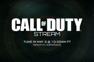 Marquen su calendario para una transmisión de Call of Duty mañana