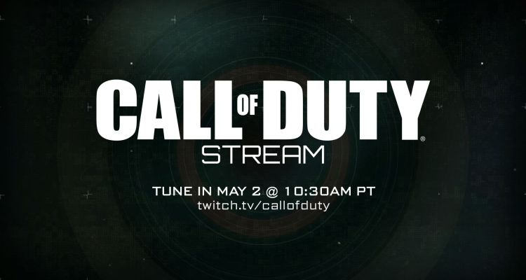 Mark your calendar for a Call of Duty stream tomorrow