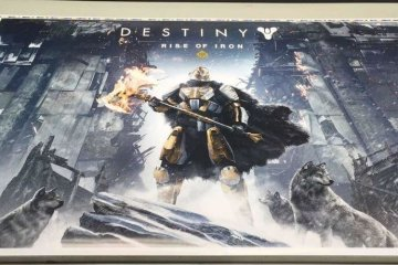 Leaked poster shows Rise of Iron is Destiny's next DLC
