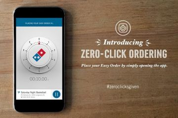 Review: La app Zero-Click de Domino's