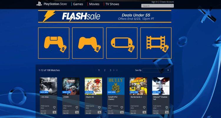 Juegos a menos de $5 a la venta en la PlayStation Store este fin de semana