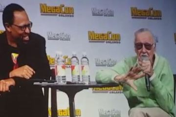 Stan Lee at MegaCon 2016