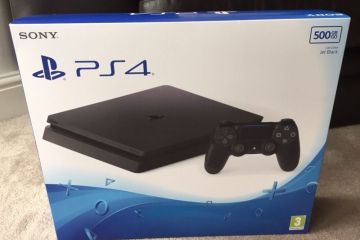 Images of a PS4 Slim Model appear on an auction site