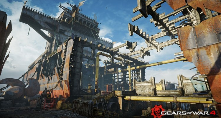 "Gears of War 4 - Mapa ""DryDock"""