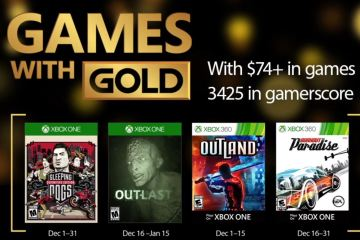 Games with Gold - Diciembre de 2016