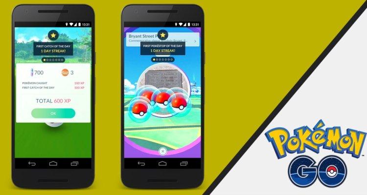Las bonificaciones diarias llegarán a Pokémon GO