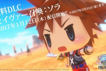 Sora is coming to World of Final Fantasy as DLC