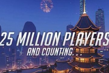 Overwatch has more than 25 million players