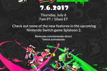Nintendo Direct de Splatoon 2