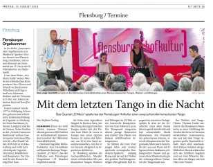 Flensburger Tageblatt - Aug 10, 2018