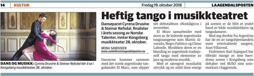 Laagdalsposten - Oct 19, 2018