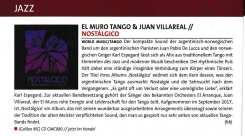 AMM Magazin Dotschy Reinhardt - El Muro Tango