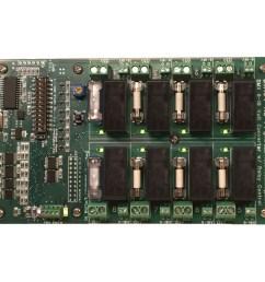 dmx 0 10 volt analog converter pcb with relay control  [ 1000 x 1000 Pixel ]