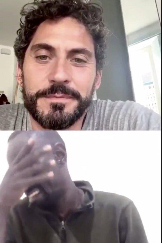 Paco León Serigne plora