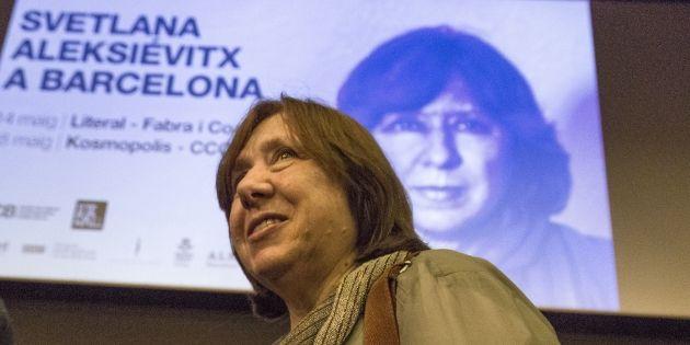 Svetlana Alexievich Nobel Literatura Sergi Alcàzar