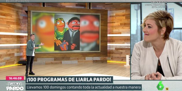 Cristina Pardo 100 programes Liarla Pardo La Sexta