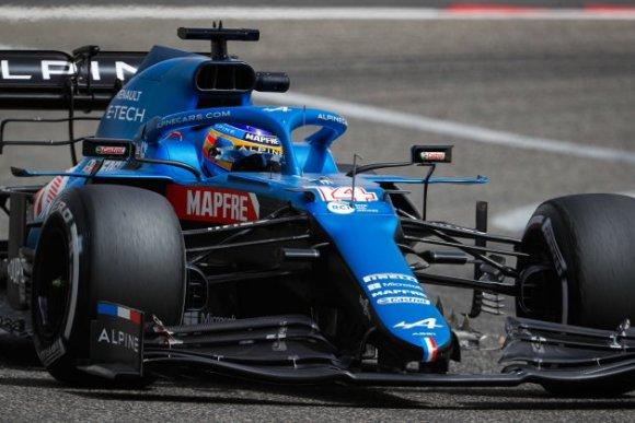 Fernando Alonso Alpine Bahrein / Europa Press