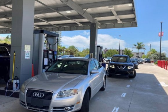 cotxes gasolinera estats units EFE