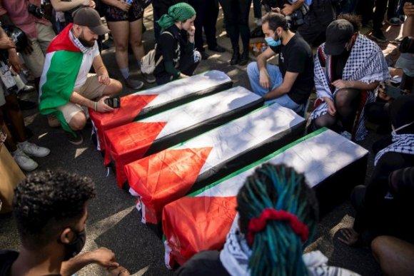 Manifestaciones en soporte a Palestina en EEUU / Efe