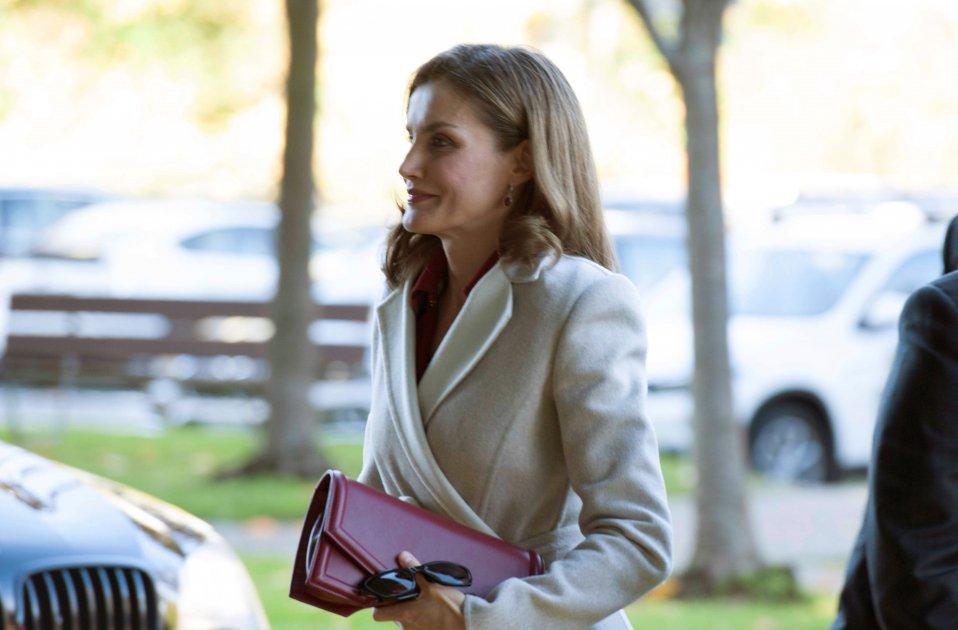 Reina Letícia a Ginebra EFE