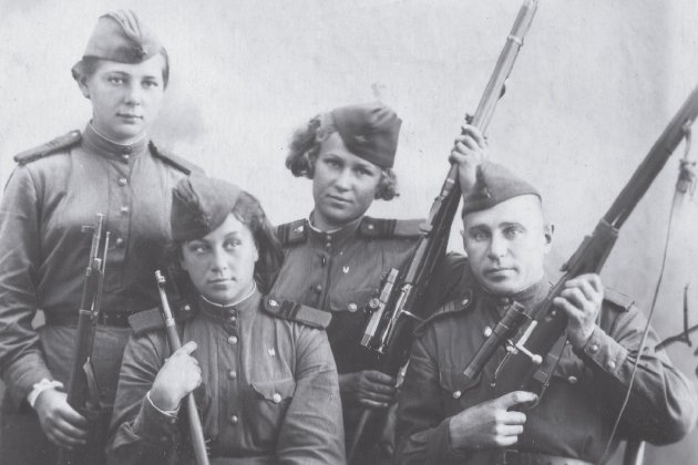 franctiradores sovietiques 2 foto pasado&presente