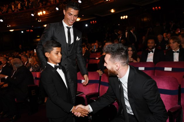 Cristiano Ronaldo Leo Messi The Best EFE