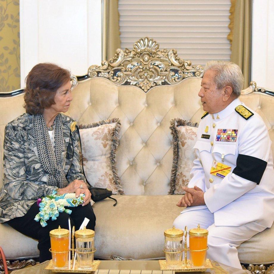 Reina Sofía a Tailàndia 2 EFE